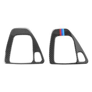 Consiglio in fibra di carbonio brillante nella casella Velocità Change Leva del cambio copertura dell'autoadesivo della decorazione dell'automobile degli autoadesivi dell'automobile per BMW E90 E92 E93 Fodera