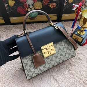 La cena della borsa della frizione di viaggio Top lussuoso coccodrillo del modello Donne borsa in pelle Bag Sciarpe Bow Piccola Piazza Borsa