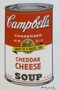 ANDY WARHOL Campbells SUPPE II Wohnkultur Handbemalte HD-Druck-Ölgemälde auf Leinwand-Wand-Kunst-Leinwandbilder 200701