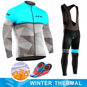 2019 pro nw ropa ciclismo manga larga para hombre ropa ciclismo ropa de invierno para hombre