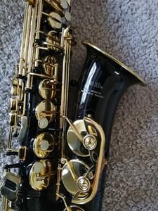 JUPITER JAS-769-767 Alto E en laiton plat saxophone corps en nickel noir corps laque or Sax Sax Tune Instrument de musique avec embout buccal