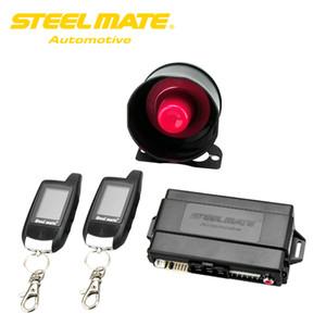 Freeshipping Steelmate Alarme De Voiture Porte-clés 888E Deux Alarme LCD Système De Sécurité Auto avec Système De Démarrage À Distance Keyless Entry Door Button Dispositif