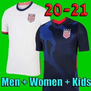 4 yıldız 2020 2021 PULISIC Futbol Jersey 20 21 DEMPSEY Morgan usa RAPINOE LLOYD ERTZ Amerika adam çocukları Futbol atletler Birleşik Devletleri S-XXL