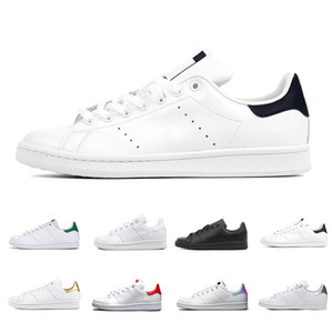 Adidas Stan Smith Cheap smith men women flat Designer sneakers green black white blue oreo rainbow stan fashion Casual mens trainer outdoor sports shoes 36-44