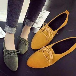 Lovely2019 Flat Sharp Bottom 여유로운 시간 Chalaza 아사쿠 치 Small Single Shoe 여성 신발