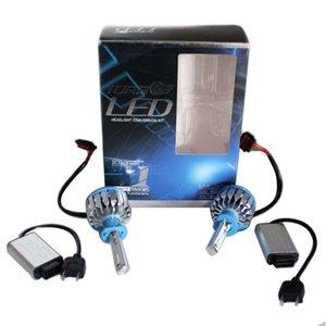 70W H1 Led Car Headlight 7000LM Conversion Kit Driving Lamp Bulb Automotive External Main Lights Fog Head Light