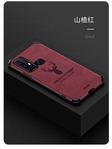 Mobile Phone Case for vivo z6 x30x30pro IQoo3 IQoo neo y7s TPU+Leather Elk Creative Protective Cover