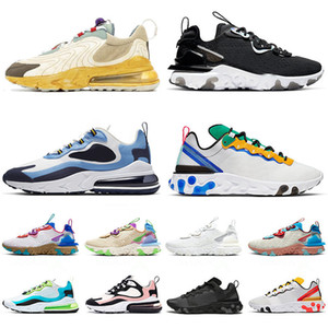 zapatos para correr tenis Nike AIR Max 270 React ENG Travis Scott Cactus Trails Element Undercover 87 55 React Vision stock x zapatillas de deporte hombres mujeres entrenadores