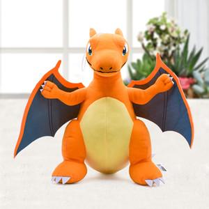 Japão Anime Charizard Center Mega Evolução Brinquedos de Pelúcia PP Algodão Animais de Pelúcia Crianças Boneca de Pelúcia Presente 33 cm SH190913