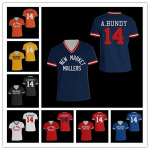 Barato NCAA Baseball Jersey Al Bundy Polk Escuela Secundaria béisbol Jersey puntada envío Cosido