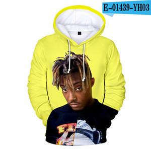 Mode Hip Hop Pullover mit Kapuze beiläufige Mens Designer Hoodie mit Saft Wrld Druck Hohe Qualität Sweatshirts Asiatische Größe