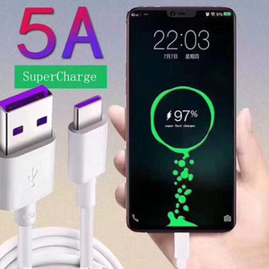 Original 5A SuperCharge Schnellladekabel Typ C USB C Super-Schnellladegerät für Huawei Mate 20, P30 Pro, Nova 5 Pro, P20, P10 Lite / Plus, P9-Kabel