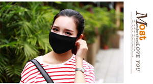 Dropshipping Unisex Weiche Gesicht Baumwolle Mundmaske Filter Anti Staubmaske Gas Verschmutzung Maske Gesundheitswesen Anti-fog Dunst Masken