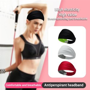 Women's ice silk multifunctional sports headband fitness antiperspirant sweat guide sports headband