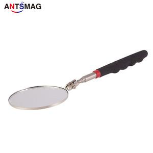 Круговая инспекции Телескопическая инспекции Flexible Inspection Зеркало 360 Вращение с пряжкой большой круглый Сварочное зеркало