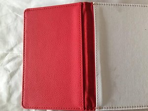 100pcs 5Colors sublimation Blank passport card holders cover heart transfer printing PU leather passport case