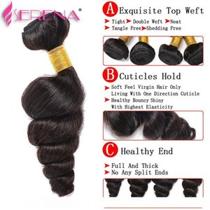 H 360 Frontal With Bundles Loose Wave Brazilian Virgin Hair 7a Bundles With Frontal Afro Hair With Baby Hairs Body Wave Cheap Hair Exte