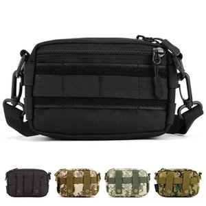 Unisex Outdoor Sports Small Capacity Tactical Single Shoulder Skiing Wear Athletic & Outdoor Apparel Solid Hanging Messenger Bags