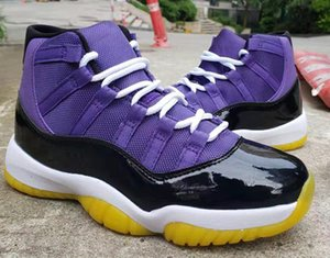 Wholesale 2020 discount New Colour Matching OG purple XI 11s high men basketball shoes outdoor trainers top quality free shipping
