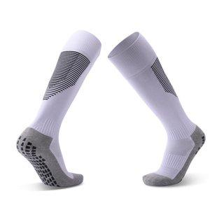 Moda estate Mens Calcio Calze 2020 nuovo arrivo sopra il ginocchio Mens solido di colore antiscivolo traspirante Calze Uomo Casual calzini di sport