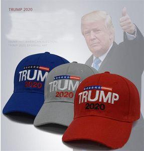 Nouveau faire de l'Amérique Grande Encore une fois Trump Baseball Cap 2020 républicain de baseball Chapeau Casquettes Trump brodé Président Cap gros DC062
