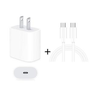 2 в 1 USB-Одно С / типа C Порт зарядное устройство + 3A PD 3.0 USB-С / типа C для USB-C / Type-C Быстрый набор кабелей зарядки данных, Длина кабеля: 2 м