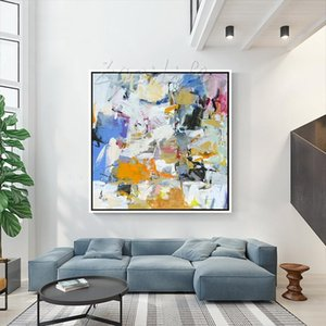 High Quality 100% Hand Painted & HD Print Modeern Abstract Art Oil Painting Wall Art Home Decor On Canvas Free Shipping Multi Size l65