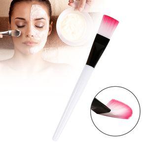 10 Uds Makeup Mask Brush Crystal Skin Makeup Care Tool Nylon Soft Hair Plastic Handle Multifunctional Beauty Brush