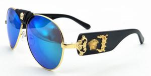 New fashion designer sonnenbrille 2150 pilot rahmen top-qualität high-end uv400 schutzbrillen großhandel großzügiger minimalistischer stil