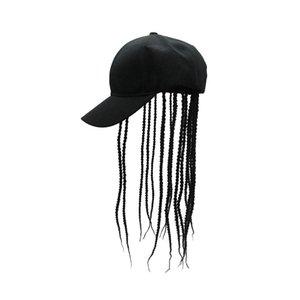 Unisex Wig Hair Dreadlocks Cap Braid Sun Visor Hats Novelty Party Birthday Hippie Hat Funny Costume Gag Halloween Hip Hop Gorro