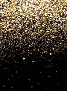 Gold Bokeh Spots Vinyl Photography Backdrops Seamless Wedding Black Photo Booth Backgrounds for New Year Studio Props