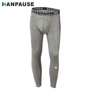 Nouvelle arrivée KANPAUSE goutte à goutte sec hommes Collants pantalons de course Pantalons Fitness Trainning exercice Respirant sport