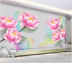 3d wallpaper custom photo murals Art hand painted flowers gongbi 3D TV background wall 3D stickers home decor wall art canvas pictures