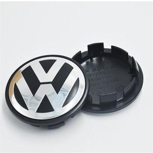 65 ملليمتر vw عجلة مركز قبعات شارة ملصقا للسيارة VW بالجملة