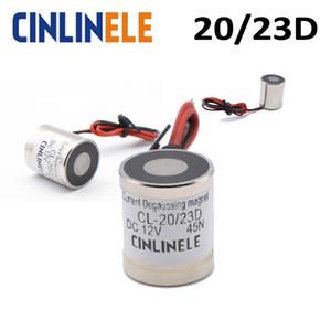 D20mm * H23mm Aktuelle Degauss Elektro-Magnet-magnetischer Magnet Sucker Elektromagnet DC 12V 24V Leistungsstarke Rare Earth