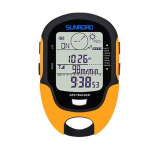 Horas del Ejército reloj SUNROAD GPS Rastreador deportivo digital Operando Militar Altímetro Brújula Localizador reloj hombre CJ191217