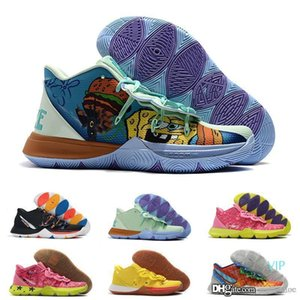 2020 Outdoor Kids Designer Shoes Kyrie 5 V Boys Kids Trainers Lucky Charms shoes Sports Irving 5 Basketball 5s shoes Youth Girls Women 32-39