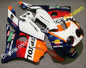 Kit de corpo para Honda CBR250RR CBR250R 1990 1991 1992 1993 1994 MC22 CBR250 CBR 250 RR ABS Kit de carenagem de motocicleta (moldagem por injeção)