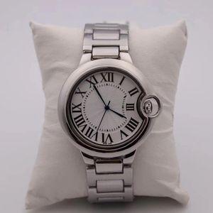 Couple de ballon bleu classique montres 28mm 35mm 42mm Hommes femmes regardent la bande d'acier de haute qualité montres de luxe Montre suisse Relojes de mujer