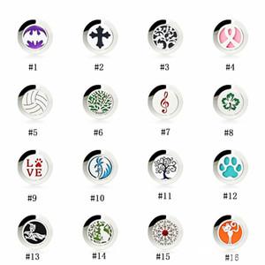 Acero inoxidable Aceite Esencial Difusor Broche Pins Para Mujeres Hombres Abierta Magnética Aromaterapia Locket insignia de la Solapa Pin Joyería de Moda