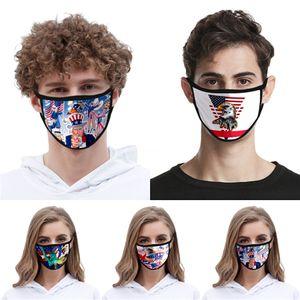 Maske Verschiffen Wiederverwendbare Waschbar Cotton Mouth Design Gesicht er Designer-Gesichtsmaske Linen Mask # QA185