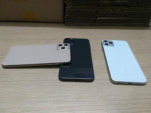 6.5 بوصة شاشة HD + جميع Goophone 11pro ماكس الجيل الثالث 3G WCDMA رباعية النواة MTK6580 تظهر 16GB + 512GB الروبوت 8.0 الهاتف المحمول حامل الهاتف سيارة