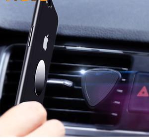 Titular del coche auto caliente del aire mini montaje de la salida del imán magnético del teléfono móvil del sostenedor del soporte universal para Iphone 7 Plus Xiaomi coche