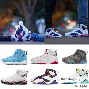 Cheap 7 VII Bordeaux tinker alternate air basketball shoes 7s men women Raptro Charcoal Alternate Olympic black Bobcats Cigar j7 Sneakers