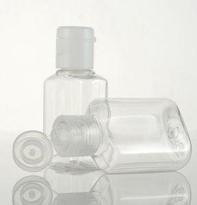 20ml plastic bottle Empty Plastic Sample Flip Cap Bottle Liquid Makeup Container travel soap bottle KKA7757