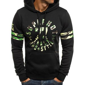 Autumn Winter Fashion Letter Printing Mens Thicken Hoodies Large Size Warm Fleece Coat Men Brand Sweaters Hooded Sweat Shirts