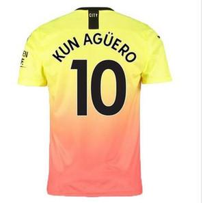 Desconto barato 20-21 Qualidade tailandesa personalizada 9 G.Jesus Kun Agüero 10 de Bruyne 17 Rodrigo 16 7 Camisa de Jerseys de Soccer Sterling, Loja Online