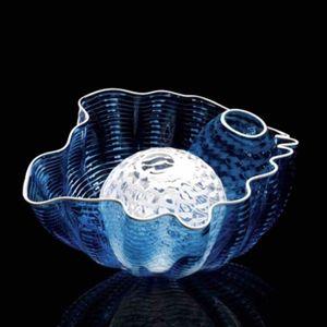 Table Art Décoration En Verre de Murano bols en verre soufflé à la main Bols à l'intérieur de bols pour la Maison Décoration