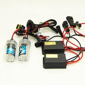 Mini hızlı aydınlık 12v 55W balast ile Far H1 H3 H4 H7 H11 H13 H27 9004 HB3 9006 HB4 9007 HB5 Bulb ksenon Araba