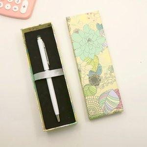 Flowers Pattern Pencil Cases Package Box Wholesale Gift Boxes for Birthday Wedding Party Favor Gifts Pack